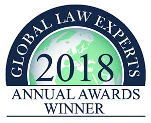 Global Law Experts 2018 Winner