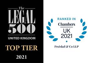 Legal500 & Chambers 2021